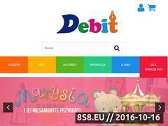 Miniaturka domeny www.wydawnictwo-debit.pl