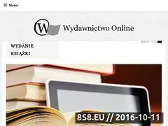 Miniaturka wydawnictwo-online.pl (Korekta tekstu, skład książki i wydanie e-booka)