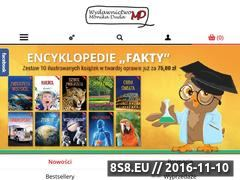 Miniaturka domeny www.wydawnictwomd.pl