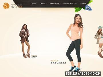Zrzut strony Najwiekszy sklep z butami Emu w Polsce