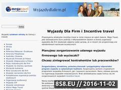 Miniaturka domeny www.wyjazdydlafirm.pl