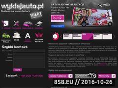 Miniaturka domeny www.wyklejauto.pl