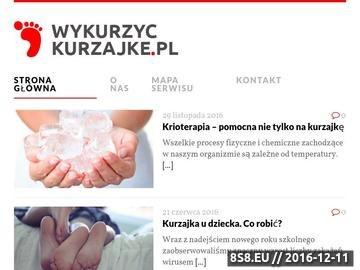 Zrzut strony Serwis o kurzajkach