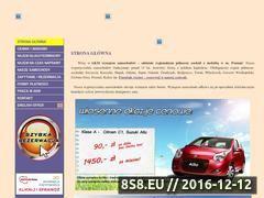 Miniaturka domeny www.wynajem-samochodu.pl