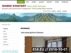 Miniaturka domeny wynajem.w-zakopanem.info