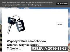 Miniaturka domeny www.wynajemautgdansk.pl