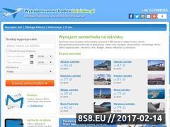 Miniaturka domeny www.wynajemsamochodowlotnisko.pl