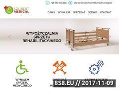 Miniaturka wynajemsprzetumedycznego.pl (Wynajem sprzętu medycznego Szubert Medical)