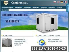 Miniaturka domeny www.wynajmijkontener.pl