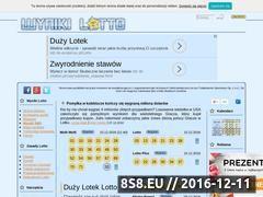 Miniaturka domeny www.wynikilotto.net.pl