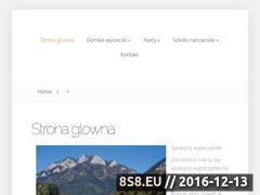 Miniaturka domeny wypoczynek-zakopane.pl