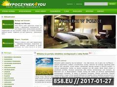 Miniaturka domeny www.wypoczynek4you.pl