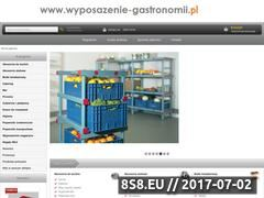 Miniaturka wyposazenie-gastronomii.pl (Gastronomia - wyposażenie)