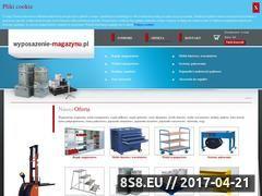 Miniaturka domeny www.wyposazenie-magazynu.pl