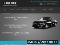 Miniaturka wypozyczalnia-borexpo.pl (Borexpo - wynajem samochodów)