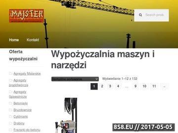 Zrzut strony Wypozyczalnia-narzedzi-lodz.pl