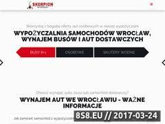 Miniaturka Wypożyczalnia Skorpion (wypozyczalniaskorpion.pl)