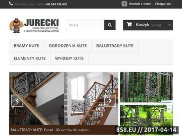 Zrzut strony Kute bramy, ogrodzenia, balustrady zewnętrzne oraz elementy kowalskie