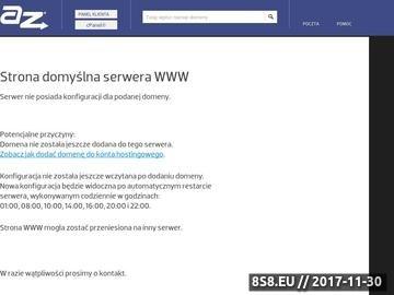 Zrzut strony Wyrusze.pl - udana podróż to nasz sukces!