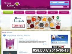 Miniaturka domeny www.wyspa-kobiet.pl