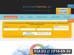 Miniaturka domeny www.wysylamtaniej.pl