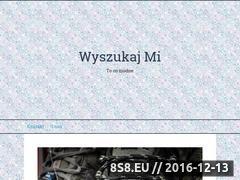 Miniaturka domeny www.wyszukajmi.pl