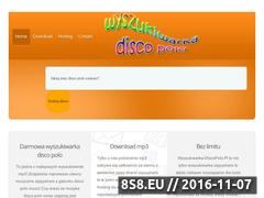 Miniaturka wyszukiwarka-discopolo.pl (Codziennie najnowsze disco polo bez limitu)