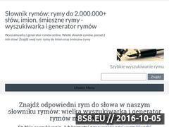 Miniaturka domeny wyszukiwarkarymow.pl