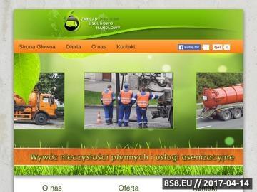 Zrzut strony P. Kijek - usługi asenizacyjne