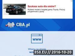 Miniaturka domeny www.wzwb.cba.pl