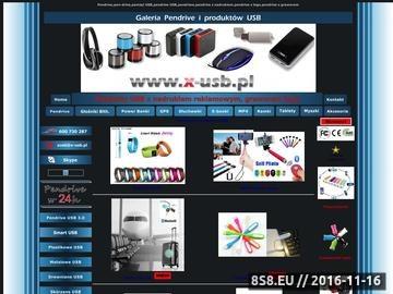 Zrzut strony Www.x-usb.pl Galeria produktów USB
