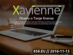 Miniaturka domeny xavienne.eu