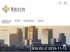 Miniaturka xevin.eu (Fundusz venture capital)