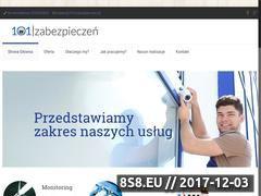 Miniaturka xn--101zabezpiecze-ooc.pl (Montaż kamer oraz montaż monitoringu)