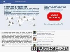 Miniaturka Lista stron oferujących podgląd profilu na FB (xn--fejs-podgldacz-kwb.pl)