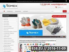 Miniaturka Rękawice robocze, rękawice ochronne - Romex Wronki (xn--rkawice-robocze-88b.pl)