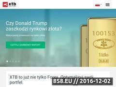 Miniaturka domeny www.xtb.pl