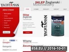 Miniaturka domeny www.yachtaman.pl