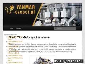 Zrzut strony Części Yanmar