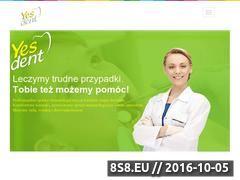 Miniaturka domeny yesdent.pl