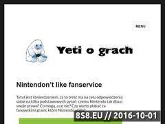 Miniaturka yetiograch.pl (Yeti o Grach)