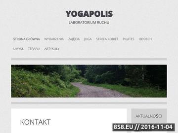 Zrzut strony Zajęcia z jogi w centrum Gliwic