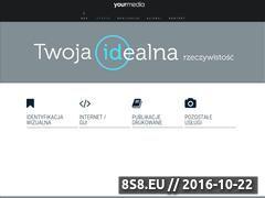 Miniaturka domeny yourmedia.pl