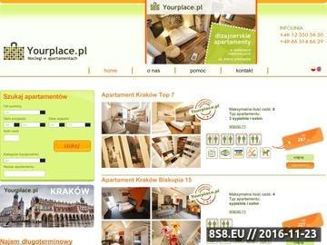Zrzut strony Hotele Kraków