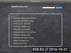 Miniaturka domeny www.zabawki-sklep.com