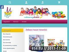 Miniaturka domeny zabawmydzieci.pl
