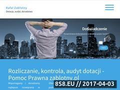Miniaturka domeny zablotny.pl