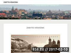 Miniaturka domeny www.zabytkikrakowa.com.pl