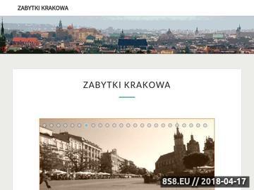 Zrzut strony Zabytki Krakowa
