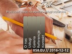 Miniaturka domeny www.zach-pol.pl